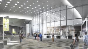 Media centre – SE corner of arena