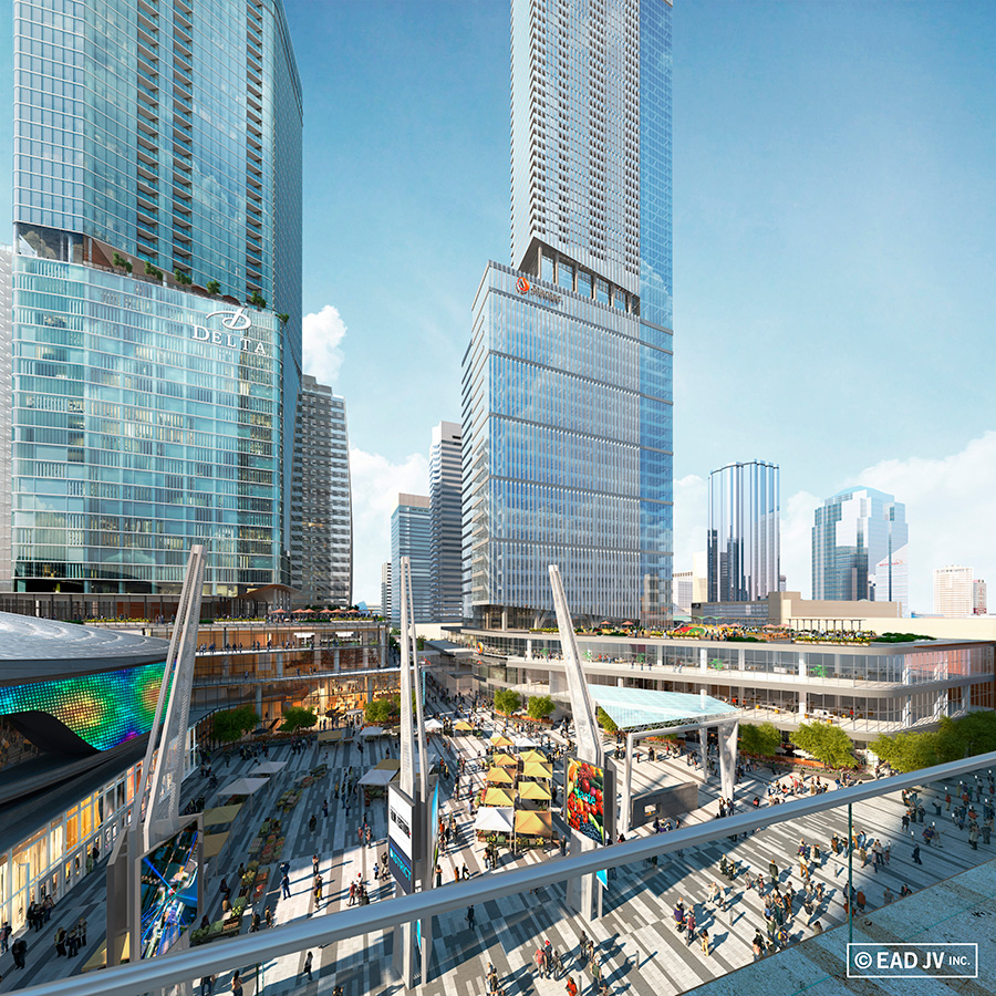 Ead joint venture announces delta hotels and resorts as for Balcony 417 rogers arena