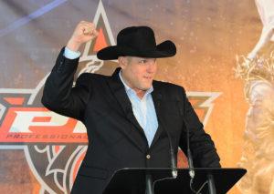 Sean Gleason, Professional Bull Riders (PBR) CEO.