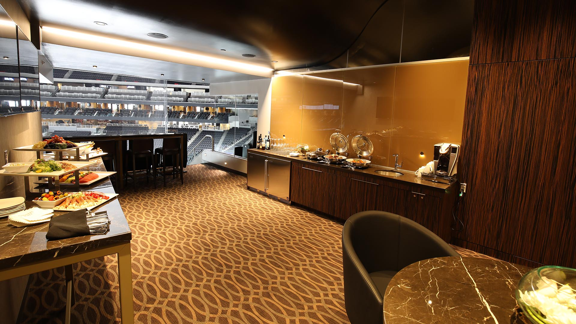 Premium rentals for Balcony 417 rogers arena