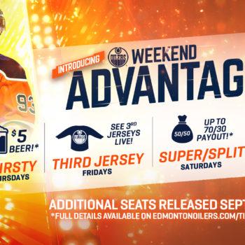 Oilers Weekend Advantage