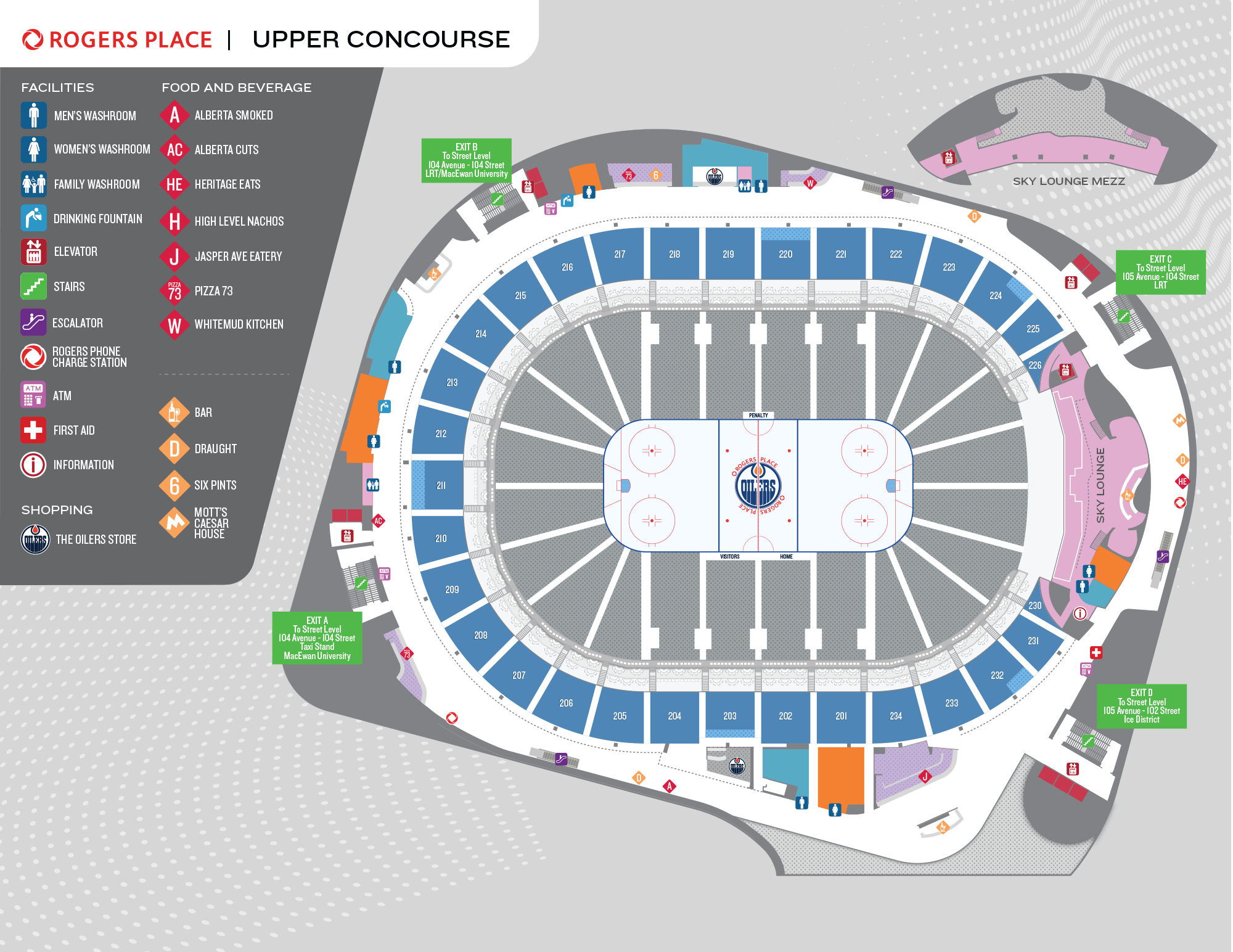Rogers Place Upper Concourse