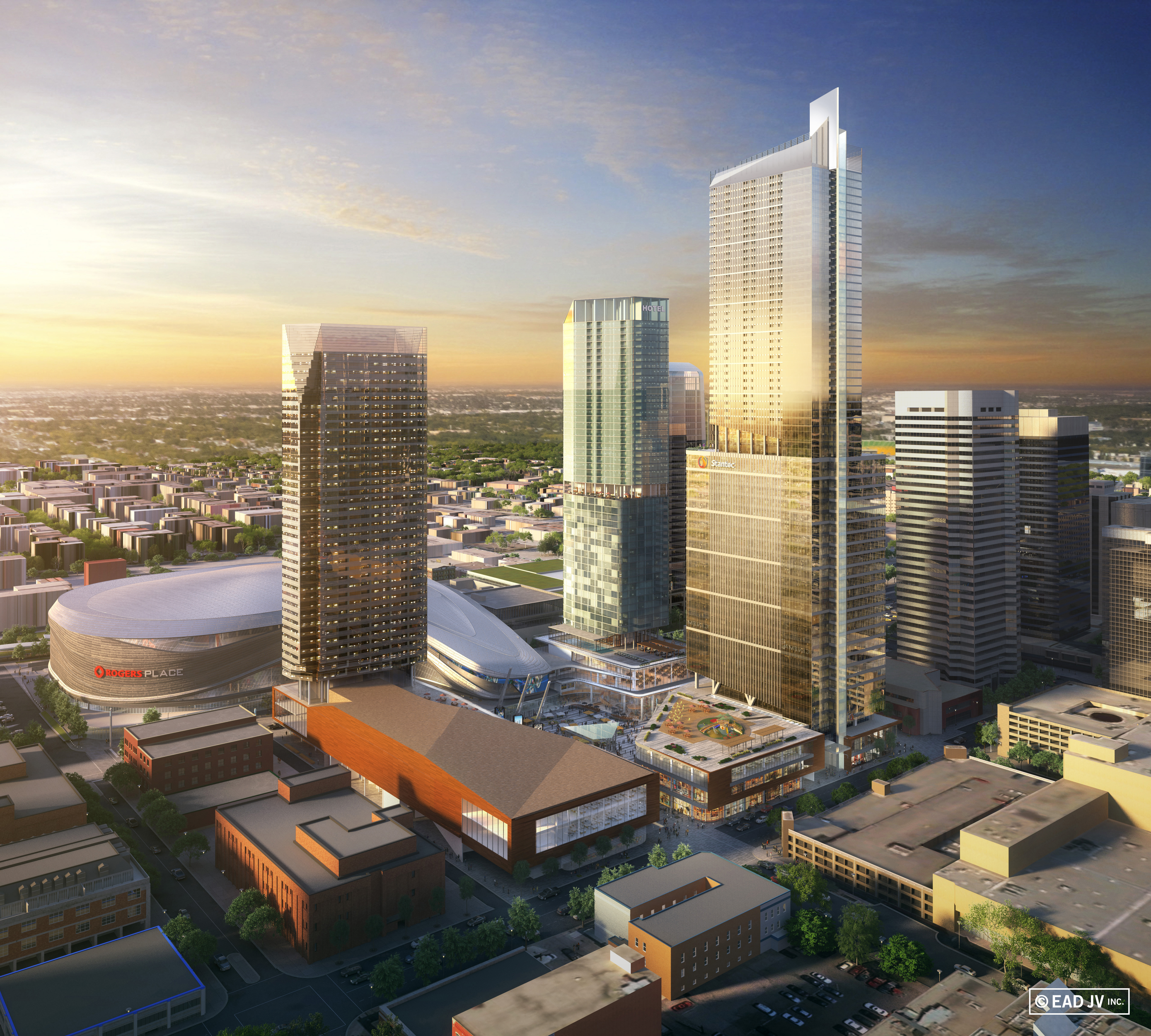 News Construction Of Edmonton S Tallest Tower To Begin