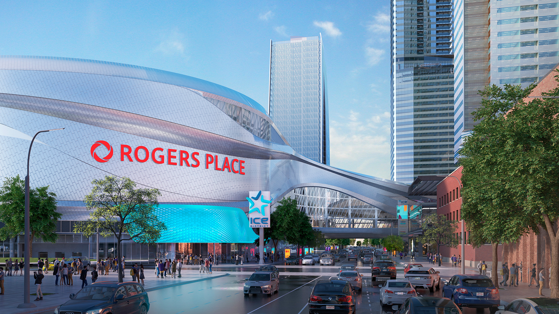 Rogers Place Receives Gold Award from IOC & IAKS for Exemplary ...