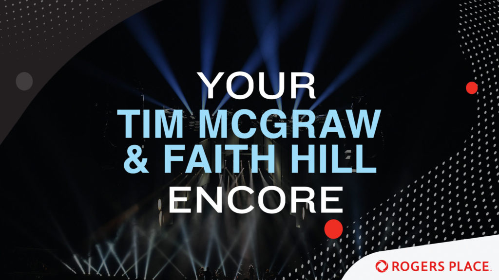 Your Tim Mcgraw And Faith Hill Encore  Rogers Place-1991