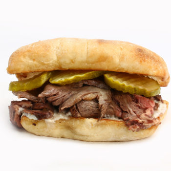 Roast Alberta Prime Rib Sandwich