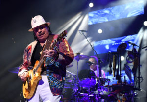 Santana strikes chord at Rogers Place   Rogers Place