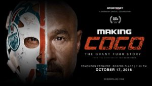 MAKING COCO: THE GRANT FUHR STORY PREMIERE – October 17