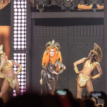 Cher concert at Rogers Place on May 25, 2019