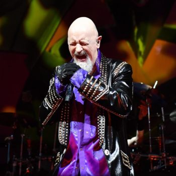Judas Priest concert at Rogers Place on June 11, 201