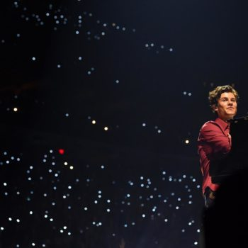Shawn Mendes performing at Rogers Place - June 16, 2019