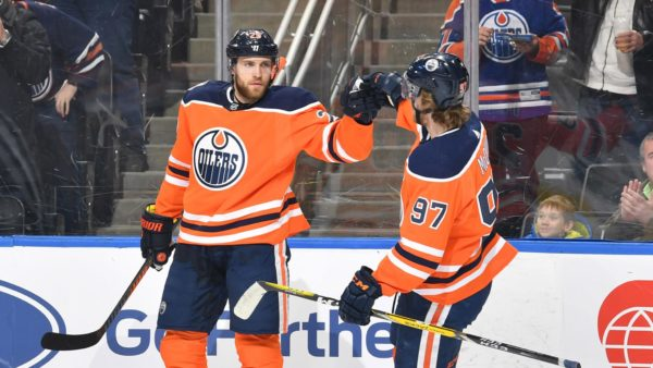 Edmonton Oilers - Connor McDavid, Leon Draisaitl