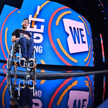 WE Day Alberta at Rogers Place