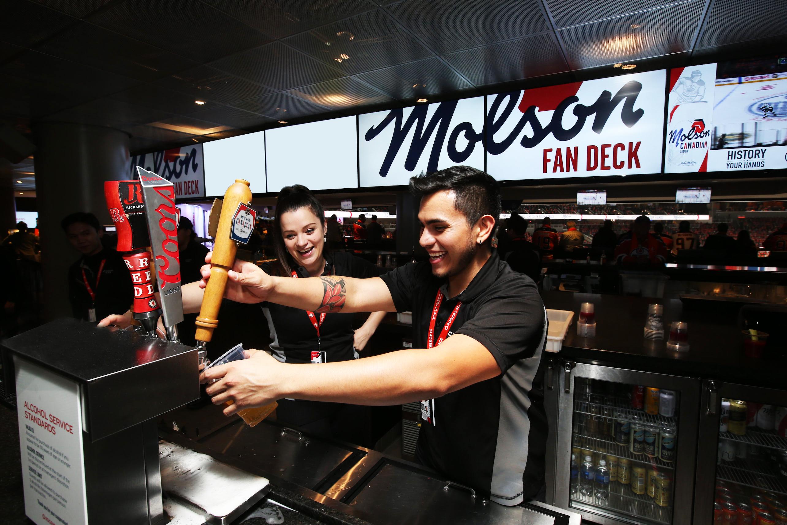 Molson Fan Deck (South)
