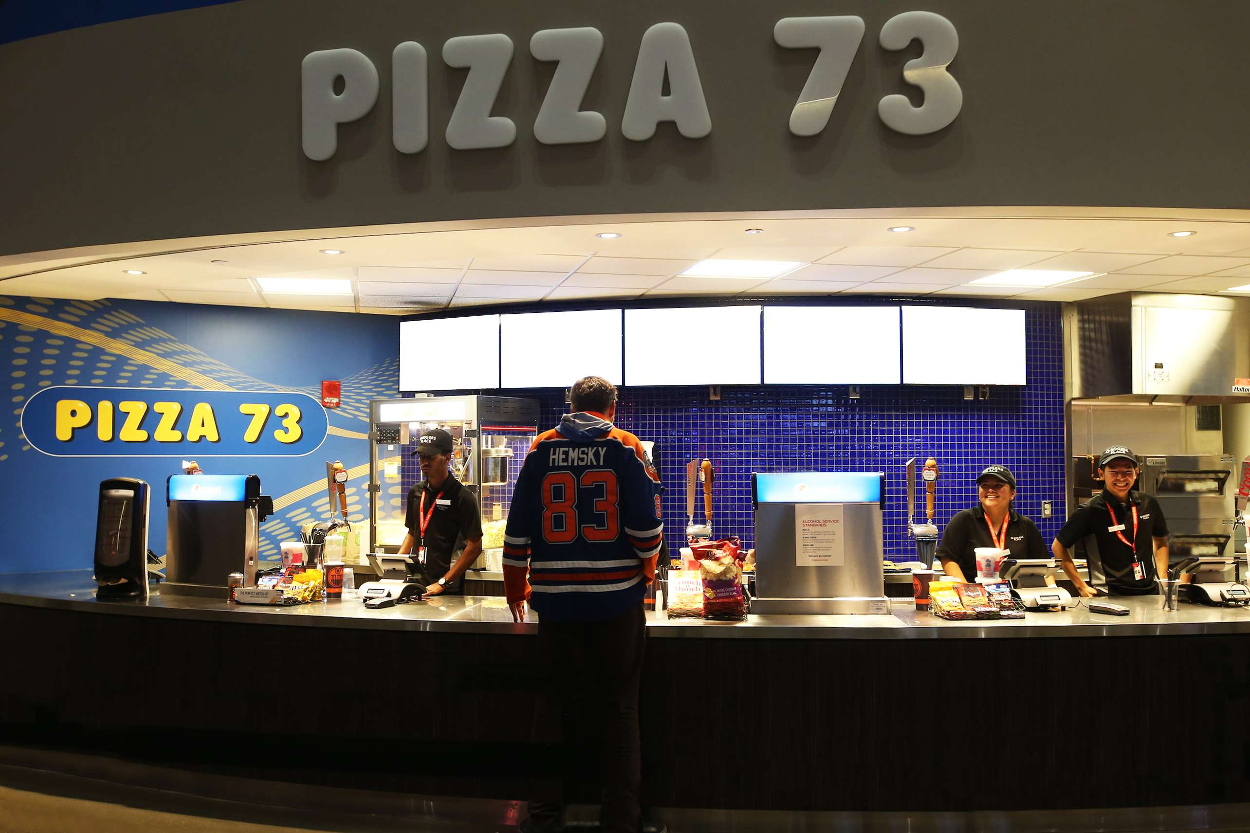 Pizza 73 (Section 107)