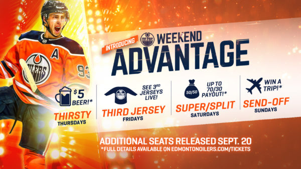 Oilers Weekend Advantage